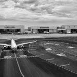 Аэропорт военной базы Райт-Паттерсон  в городе Дейтон  в США